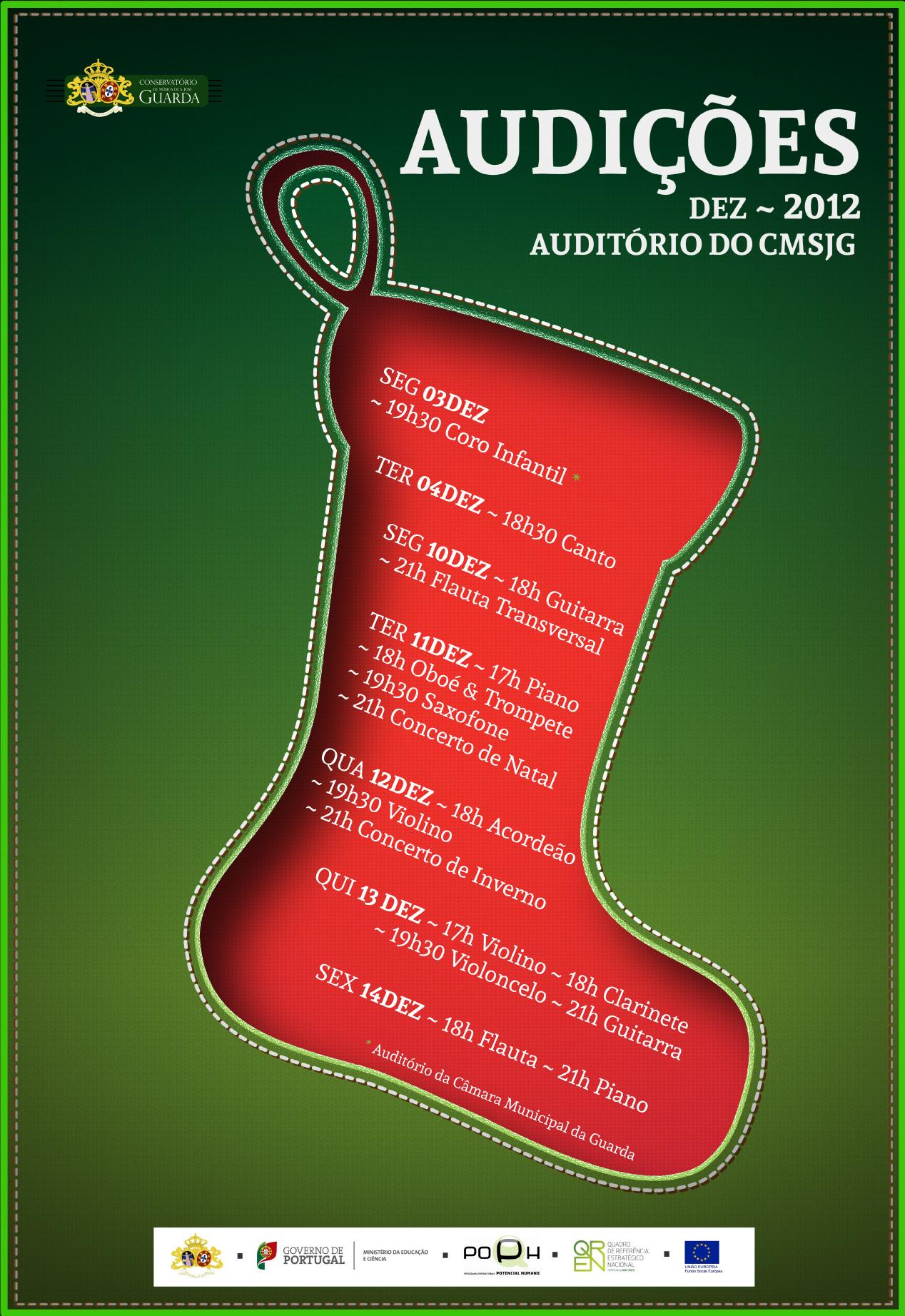 Audições Dezembro~2012