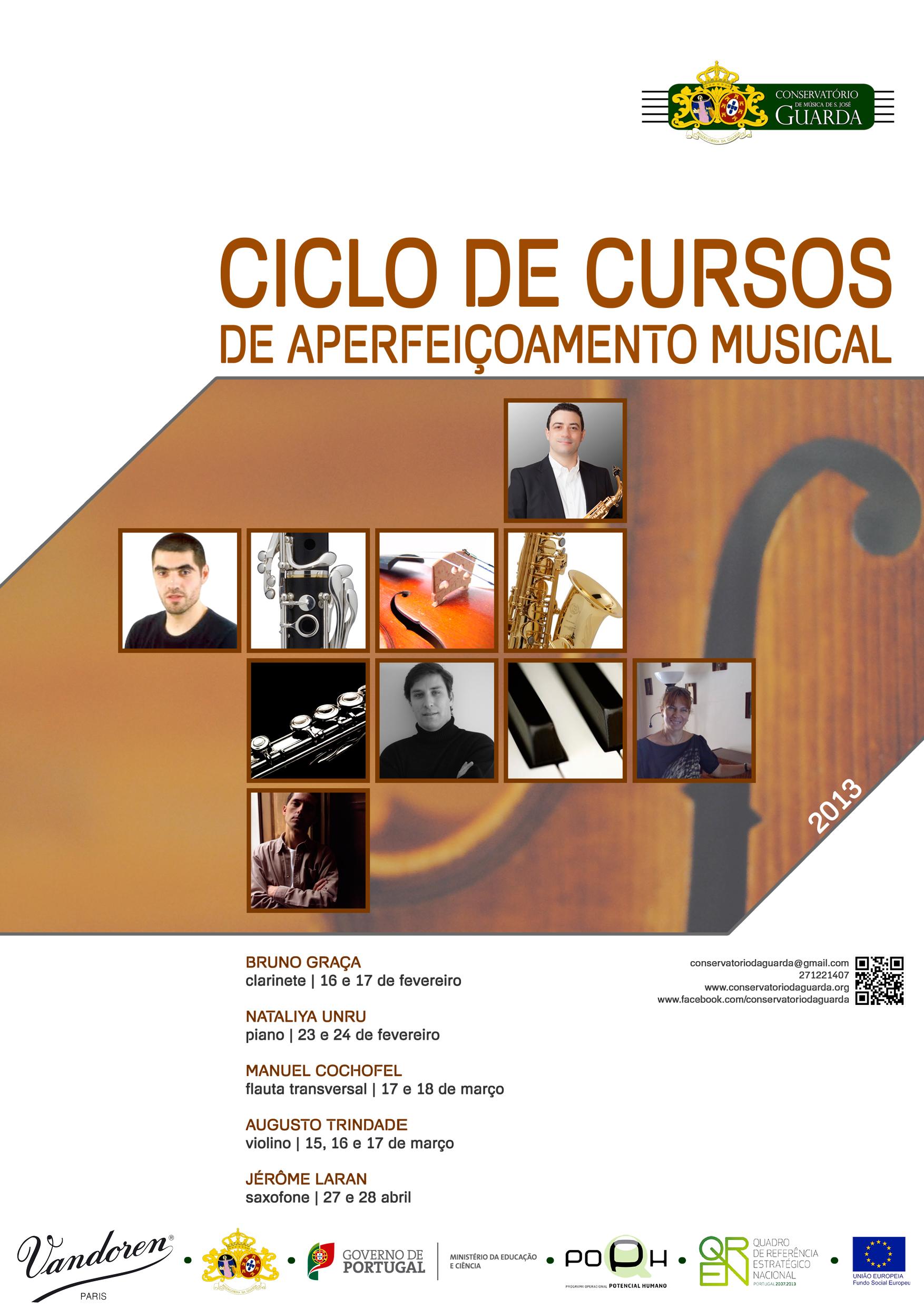 Ciclo de Cursos de Aperfeiçoamento Musical 2013
