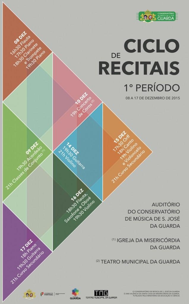 4. Cartaz Recitais 1º Periodo 2015-16