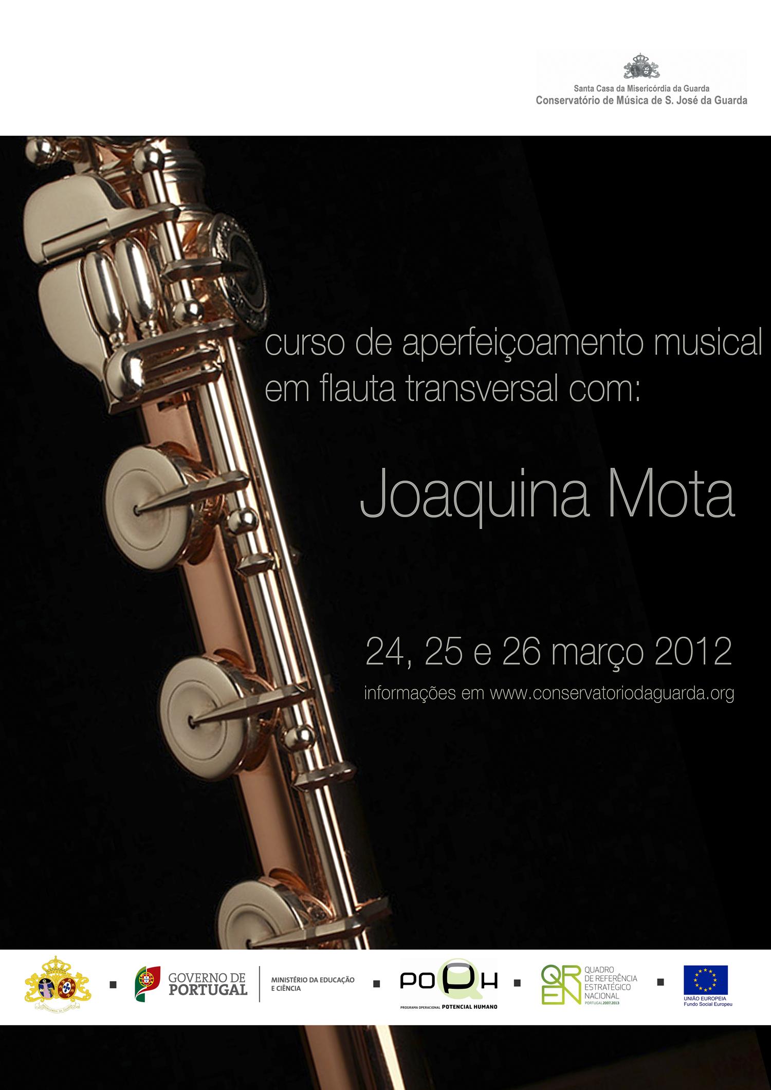 Curso de Aperfeiçoamento Musical em Flauta Transversal com a prof. Joaquina Mota